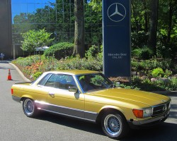1978 Mercedes 450SLC 5.0 owned by Michael Goldberg.