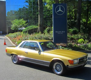 1978 mercedes benz 450slc 5 0 at 2012 june jamboree in for Mercedes benz montvale nj