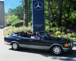 1983 Mercedes 500SEL custom convertible owned by Gary Strassberg.
