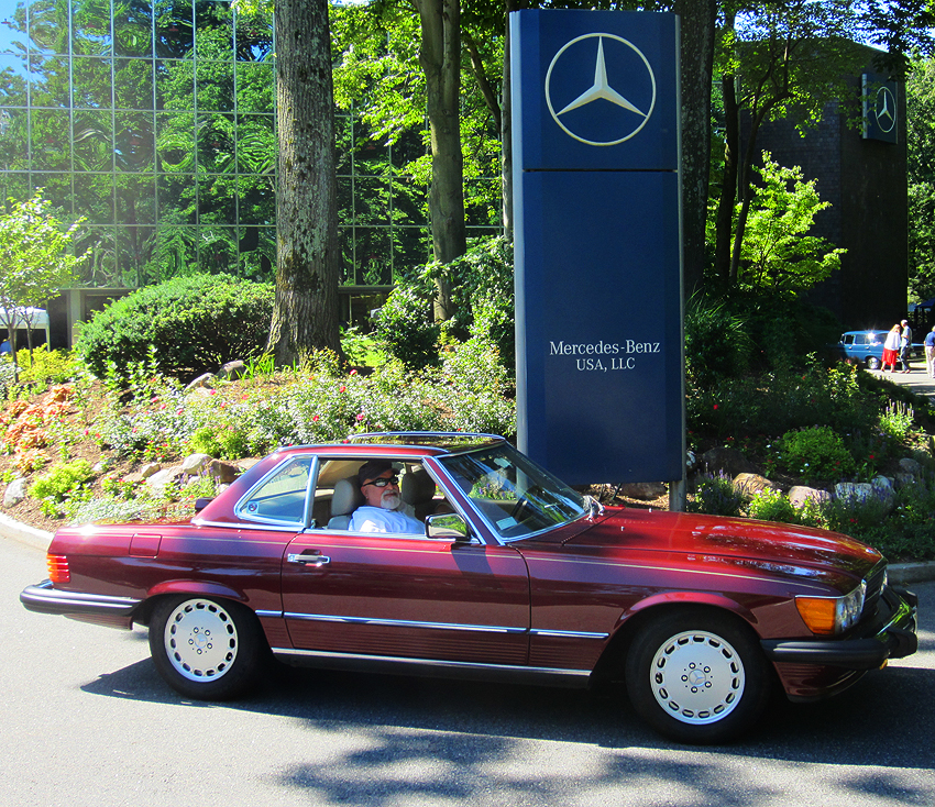 1987 Mercedes 560SL owned by Bob Walther