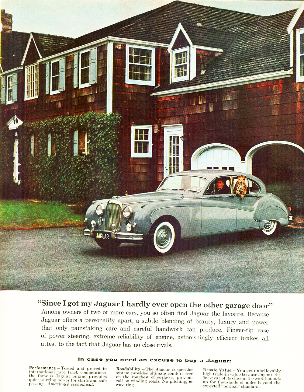 1959 Jaguar Mark IX Saloon ad | CLASSIC CARS TODAY ONLINE