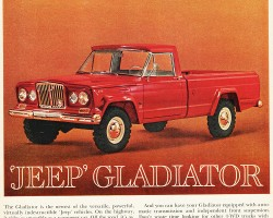 1963 jeep gladiator ad