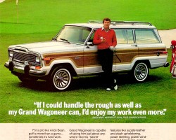 jeep grand wagoneer ad