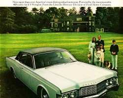 1969 lincoln continental ad