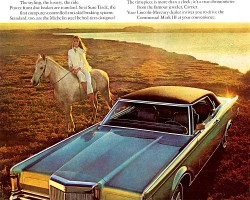 1970 lincoln mark iii ad