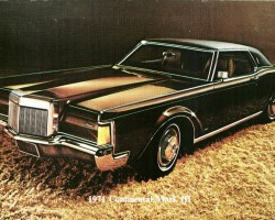 1971 lincoln mark iii ad