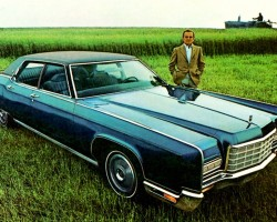 1972 lincoln continental ad