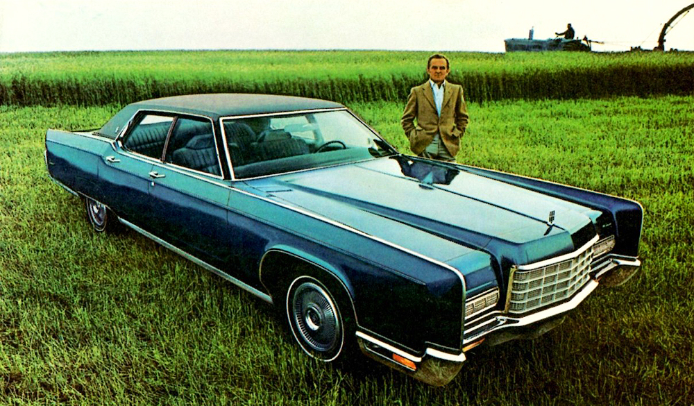 1972 Lincoln Continental promotional picture | CLASSIC CARS TODAY ...
