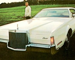 1972 lincoln mark iv ad