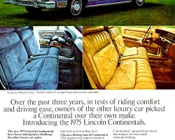 1975 lincoln continental ad
