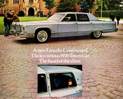 1976 lincoln continental ad