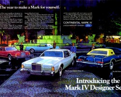 1976 lincoln mark iv ad