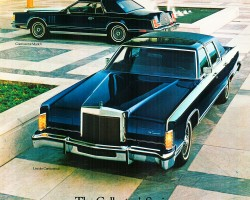 1979 lincoln continental ad