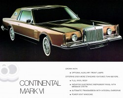 1980 lincoln town car ad