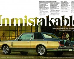 1981 lincoln town car ad