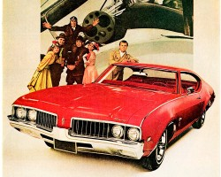 1969 oldsmobile cutlass supreme ad