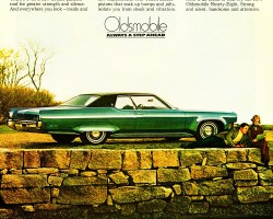 1971 oldsmobile ninety eight ad