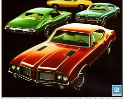 1972 oldsmobile cutlass supreme ad