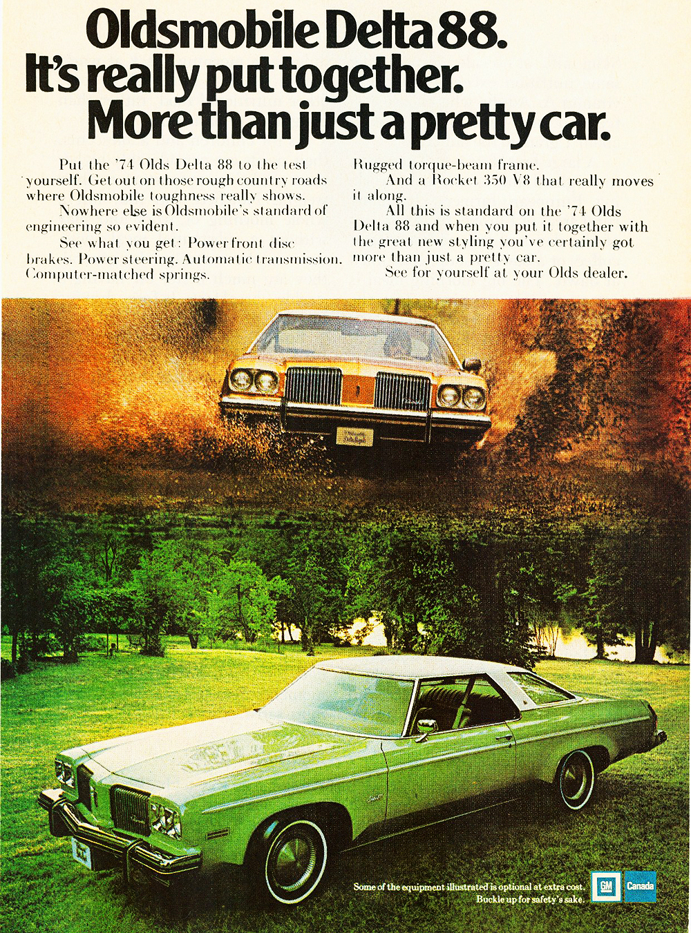 1974 Oldsmobile Delta 88 Ad Classic Cars Today Online