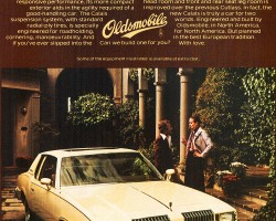 1978 oldsmobile cutlass supreme ad