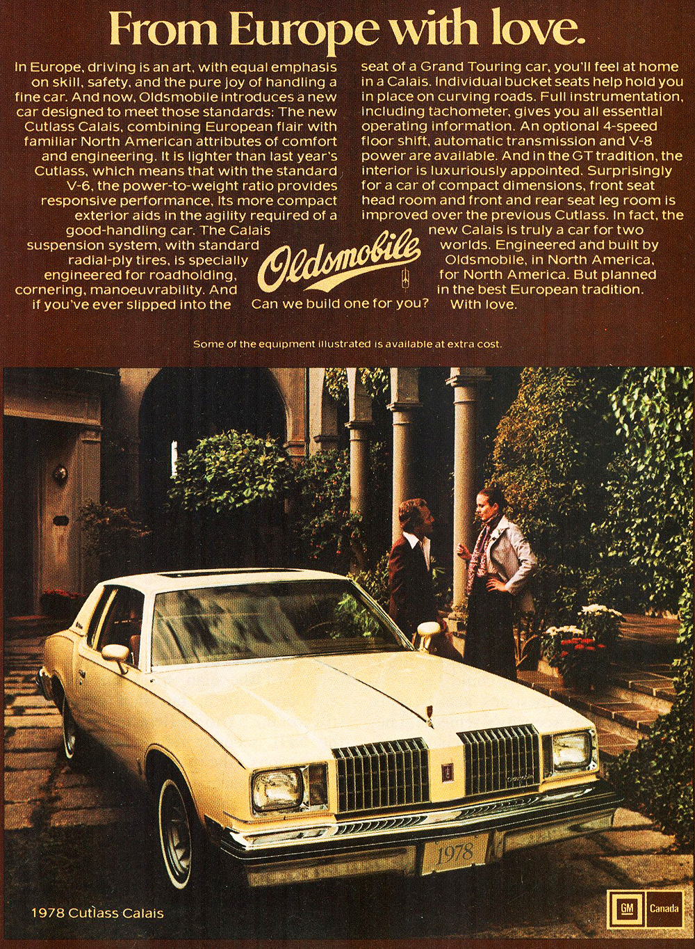 1978 Oldsmobile Cutlass Supreme Ad Classic Cars Today Online