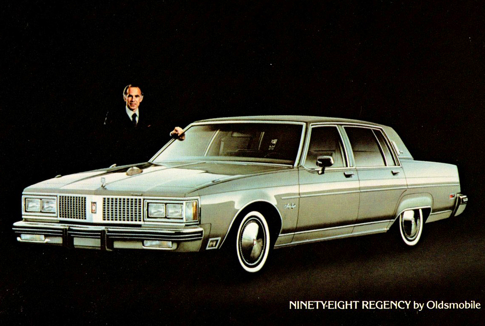 1982 Oldsmobile 98 Promotional Picture Classic Cars
