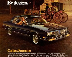 1983 oldsmobile cutlass supreme ad
