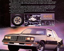 1985 oldsmobile cutlass supreme ad