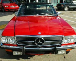 1972 350SL front view.