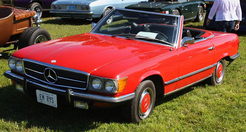 1973 450SL left front view.