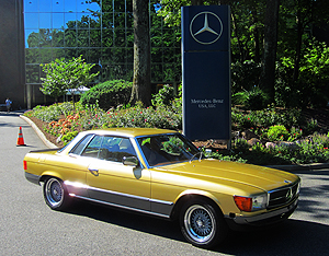 Mercedes 1978 450slc 5 0 Small Classic Cars Today Online