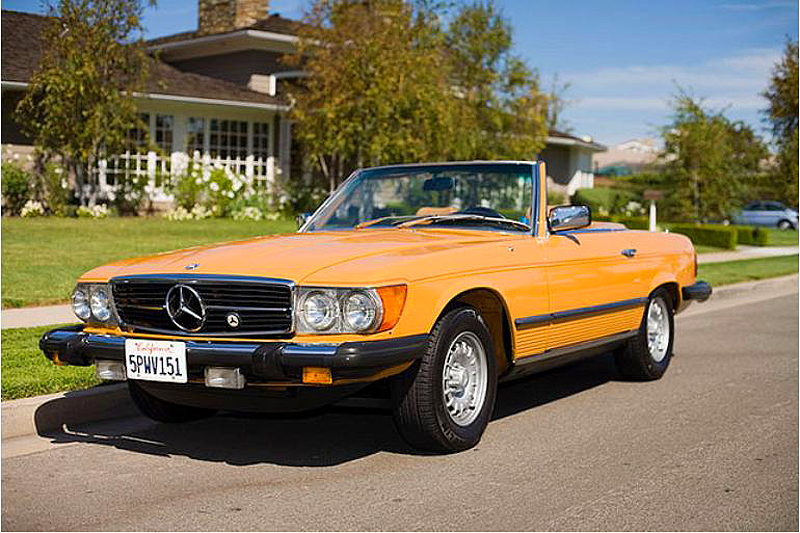 1980 mercedes 450sl classic cars today online. Black Bedroom Furniture Sets. Home Design Ideas
