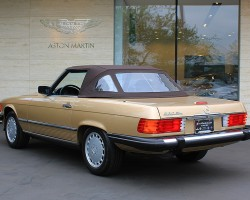 the classic 1972 1989 mercedes sl spanned 18 model years without 1988 mercedes- benz sl 1988 mercedes 560sl with soft top up