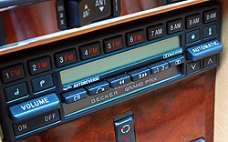 Digital radios of this design were introduced for 1981 and continued through 1989.