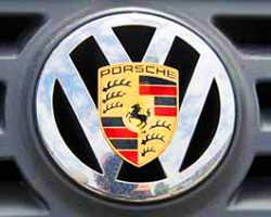 *Merger is a word which loosely describes the two companies' situation. Initially, Porsche had attempted to purchase a majority amount of shares in Volkswagen. Their takeover backfired when the large amount of debt Porsche took on during their attempt weakened stock prices to the point where Volkswagen could afford to take them over.