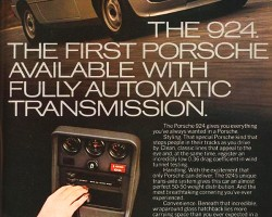 This advertisement highlights the 3-speed automatic transmission that became an option late in the 1977 model year.
