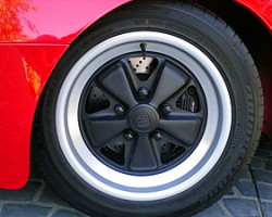 924 Carrera GTs were equipped with these aluminum wheels from Porsche's higher-price 911 model.