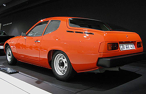 This early 924 prototype was developed in 1974. Today, it resides in Porsche's factory museum in Germany. (Photo credit: Porsche Museum)