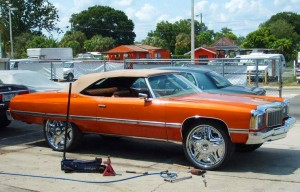 Chevrolet Caprice Donk A X on 1971 Buick Lesabre Convertible