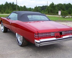 (Alternate DONK)  1975 Pontiac Grand Ville convertible