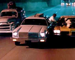 sam raimi, car, oldsmobile