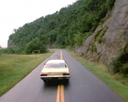 sam raimi, car, evil dead 2, oldsmobile