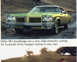 1973 oldsmobile, sam raimi