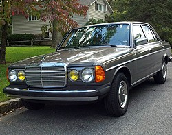 I bought this '85 Mercedes 300D on December 30, 1992 and twenty years later today I still own it.  How does one properly celebrate a 20 year anniversary with a car?  No longer a daily driver, I still take it out of the garage and take it to work often on clear days.