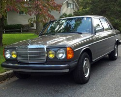 anthracite 1985 Mercedes 300D
