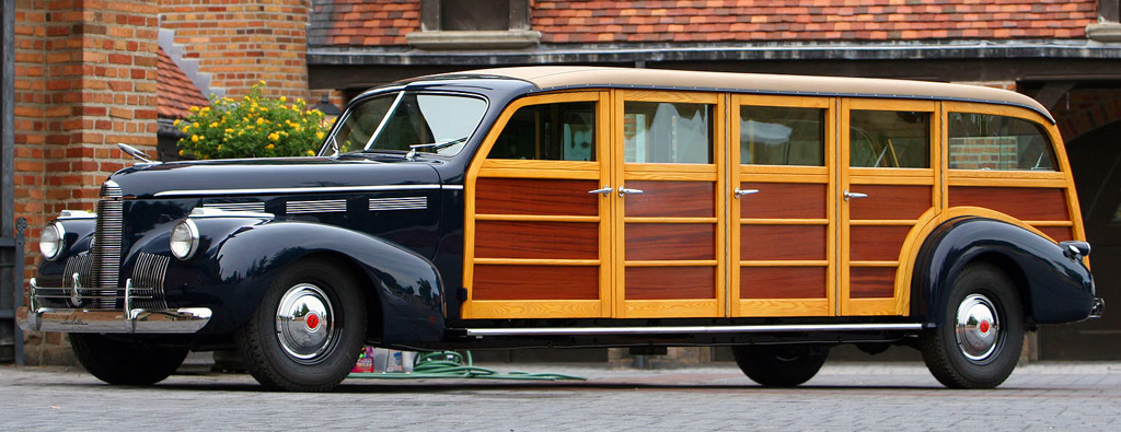 1940 Cadillac lasalle woodie wagon