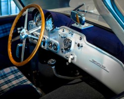 1952 Mercedes 300SL interior