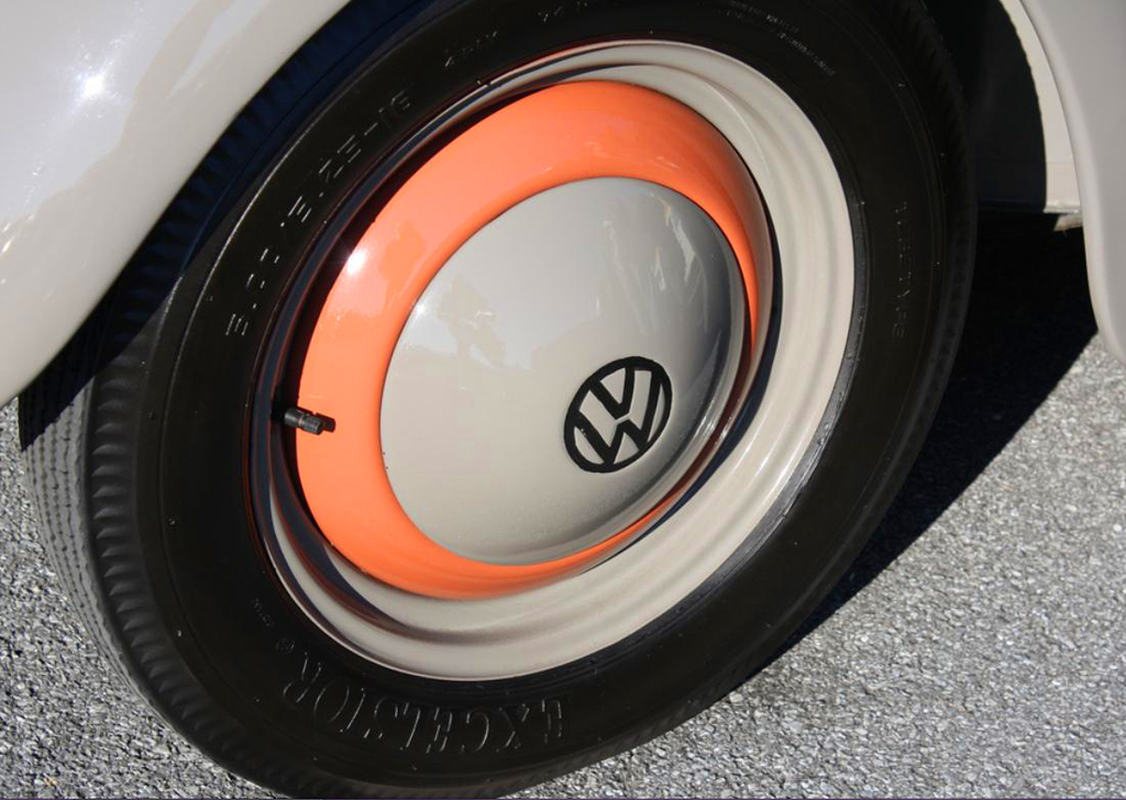 1952 Volkswagen wheel