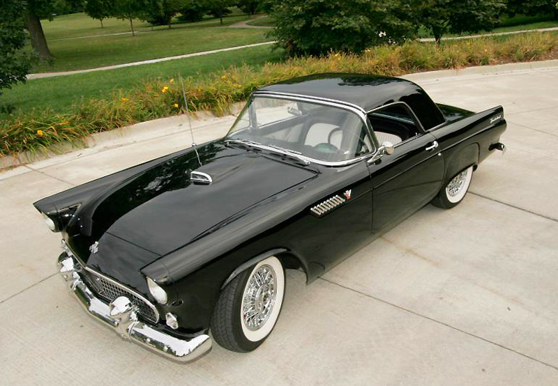 1955 Ford T Bird Classic Cars Today Online