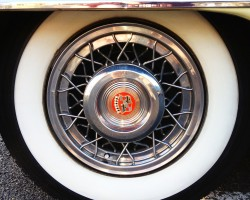 1956 cadillac wire wheel cover